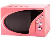 Pink Digital Microwave